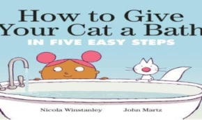 how to give your cat a bath, children's fiction, Nicola Winstanley, net galley, review, tundra books