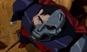 reign of the supermen, sequel, animated, superhero, blu-ray, review, warner bros animation, warner home video