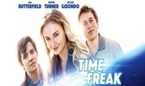time freak, comedy, drama, asa butterfield, sophie turner, blu-ray, review, lionsgate