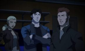 triptych, outsiders, young justice, tv show, animated, action, adventure, season 3, review, dc universe, warner bros television