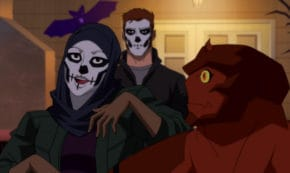 true heroes, outsiders, young justice, tv show, animated, action, adventure, season 3, review, dc universe, warner bros television