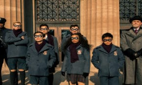 the umbrella academy, tv show, action, adventure, comedy, drama, mystery, season 1, review, dark horse entertainment, netflix