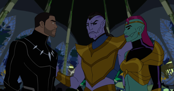 king breaker, part 2, black panther's quest, marvel avengers, cartoon, season 5, review, marvel animation, disney xd