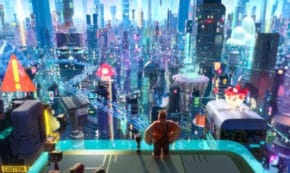 ralph breaks the internet, sequel, computer animated, comedy, john c reilly, sarah silverman, blu-ray, review, walt disney pictures