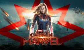 captain marvel, superhero, marvek, brie larson, samuel l jackson, clark gregg, review, walt disney pictures