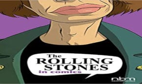 the rolling stones in comics, comic, graphic novel, entertainment, ceka, net galley, review, papercutz, nbm publishing