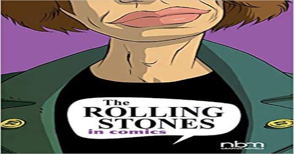 the rolling stones in comics, comic, graphic novel, entertainment, ceka, net galley, review, papercutz, nbm publishing