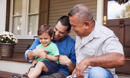 How do you best motivate sons with a father's experience?