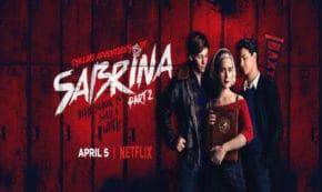chilling adventures of sabrina, tv show, supernatural, horror, kiernan shipka, part 2, review, netflix
