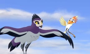 fire from the sky, the lion guard, tv show, animated, adventure, season 2, review, disney junior