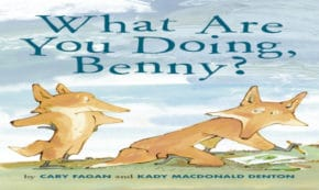 what are you doing benny, children's fiction, cary fagan, net galley, review, penguin random house, tundra books