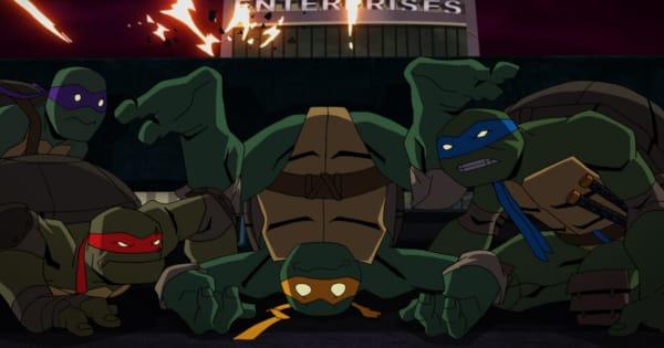 batman vs teenage mutant ninja turtles, animated, adaptation, dc, clip, dc entertainment, nickelodeon, warner bros animation, warner home video