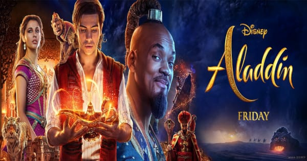 aladdin, live action, musical, fantasy, will smith guy ritchie, review, walt disney pictures