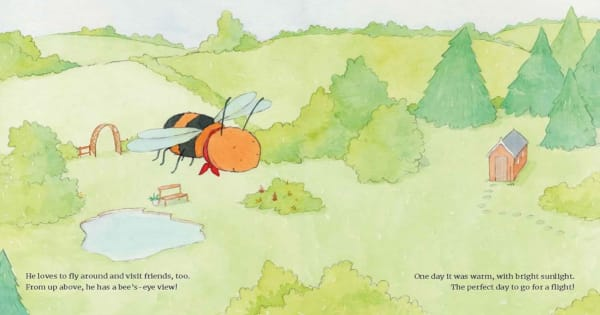 bee calm, children's fiction, frank j sileo, net galley, review, american psychological assogication, magination press