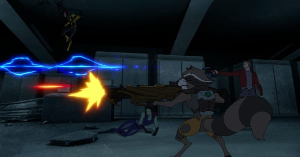 blame it on the boss of nova, guardians of the galaxy, animated, action, adventure, comedy, season 3, review, marvel animation, disney xd