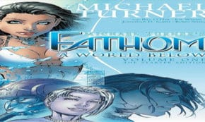 a world below, fathom, science fiction, fantasy, comic, graphic novel, micheal turner, net galley, review, aspen comics, diamond book distributors