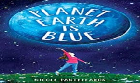 planet earth is blue, children's fiction, Nicole Panteleakos, net galley, review, wendy lamb books, random house children's