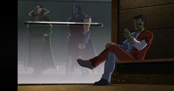 Shredder and Ra's al Ghul go to Arkham in this 'Batman Vs