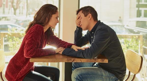 dating negativ person