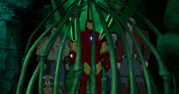 killer queen, guardians of the galaxy, animated, action, adventure, comedy, season 3, review, marvel animation, disney xd