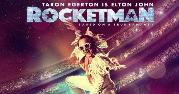 rocketman, musical, biographical, drama, taron egerton, bryce dallas howard, review, paramount pictures