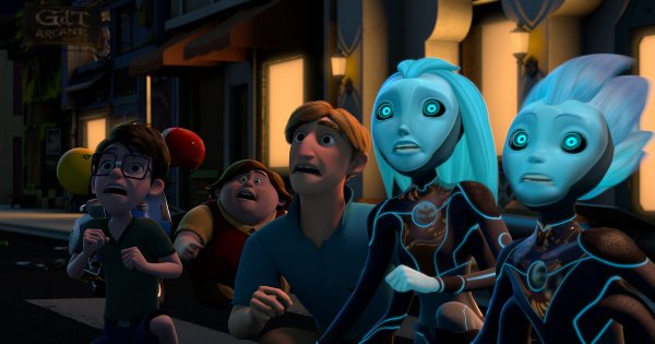 3 below, tales of arcadia, tv show, computer animated, science fiction, fantasy, season 2, review, dreamworks animation, netflix