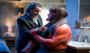 hellboy, reboot, drama, action, david harbour, blu-ray, review, lionsgate