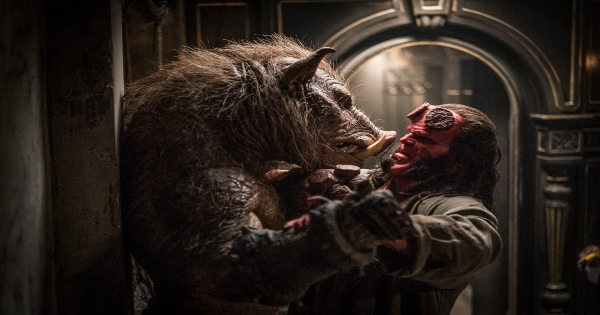 hellboy, reboot, drama, action, david harbour, review, lionsgate