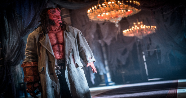 hellboy, reboot, action, drama, david harbour, review, lionsgate