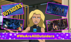 early warning, outsiders, young justice, tv show, animated, action, adventure, season 3, review, dc universe, warner bros television