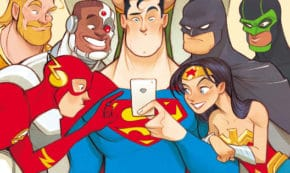 dear justice league, comic, graphic novel, children's fiction, michael northrop, net galley, review, dc zoom, dc entertainment
