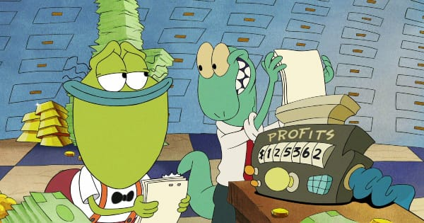static cling, rocko's modern life, animated, comedy, special, review, nickelodeon, netflix