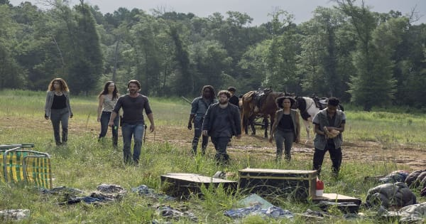 the walking dead, tv show, horror, drama, season 9, review, amc, lionsgate