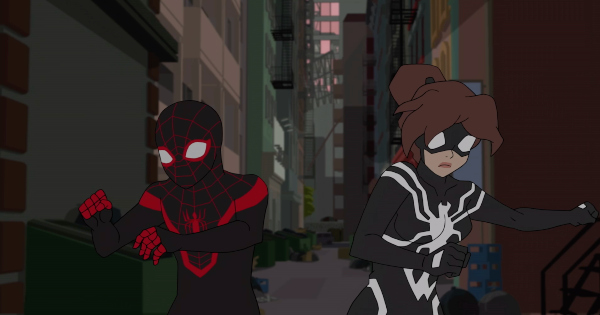 day without spiderman, spiderman, marvel, tv show, animated, superhero, season 2, review, marvel animation, disney xd