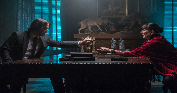 parabellum, john wick, chapter 3, sequel, action, thriller, keanu reeves, blu-ray, review, lionsgate