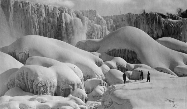 An (Ice) Bridge to the Past: Niagara Falls has Frozen