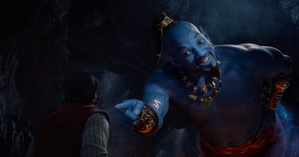 aladdin, live action, musical, fantasy, will wmith, guy ritchie, blu-ray, review, walt disney pictures