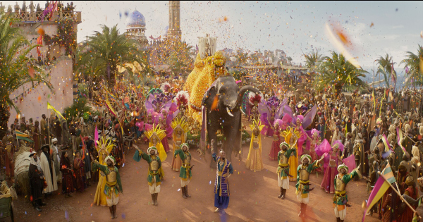 aladdin, live action, musical, fantasy, will smith, guy ritchie, blu-ray, review, walt disney pictures