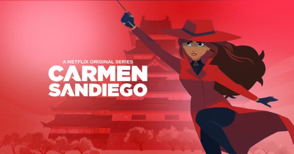 carmen sandiego, tv show, comedy, action, mystery, season 2, review, netflix