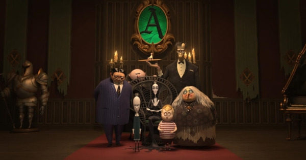 the addams family, computer animated, comedy, horror, review, metro goldwyn mayer, united artists
