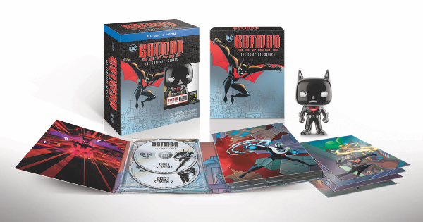 batman beyond, tv show, animated, series, box set, limited edition, science fiction, action, adventure, review, warner bros television