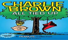 all tied up, peanuts, comic, middle grade, charles m schulz, net galley, review, andrews mcmeel publishing