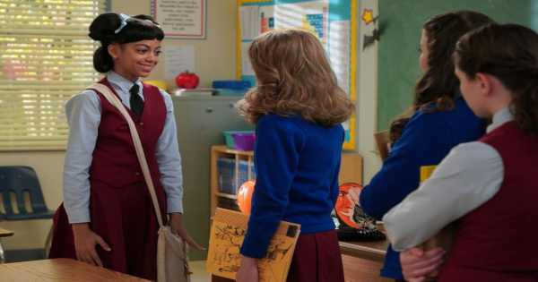 girls just want to have fun, mixed-ish, tv show, comedy, season 1, halloween, review, abc