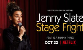stage fright, jenny slate, comedian, stand up, special, review, netflix