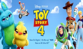 toy story 4, sequel, computer animated, comedy, tom hanks, tim allen, blu-ray, review, walt disney pictures