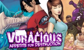 voracious, appetite for destruction, vol 3, comic, graphic novel, jason muhr, net galley, review, action lab entertainment, diamond book distributors