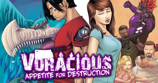 voracious, appetite for destruction, vol 3, comic, graphic novel, jason muhr, net galley, review, action lab entertainment, diamond book distributors