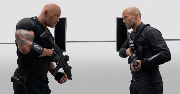 hobbs and shaw, action, jason statham, dwayne johnson, blu-ray, review, universal pictures