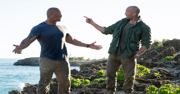 hobbs and shaw, action, dwayne johnson, jason statham, blu-ray, review, universal pictures