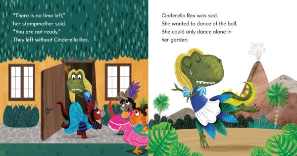 cinderella rex, children's fiction, christy webster, net galley, review, andrews mcmeel publishing